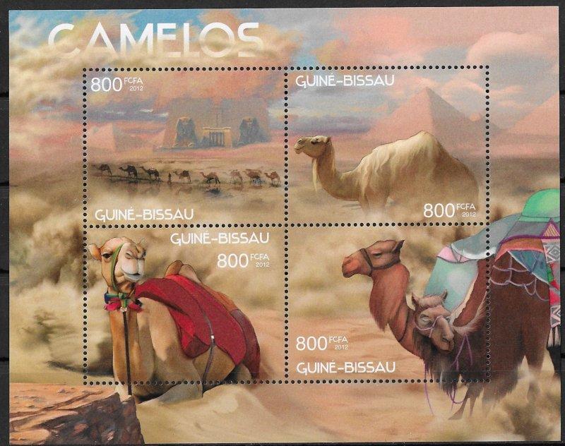 Guinea-Bissau MNH S/S Camels 2012