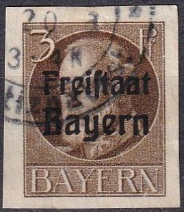Bavaria #156 F-VF Used CV $20.00 (A18304)