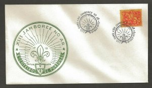 1970 Portugal Boy Scout XIII Jamboree on Air Faro City