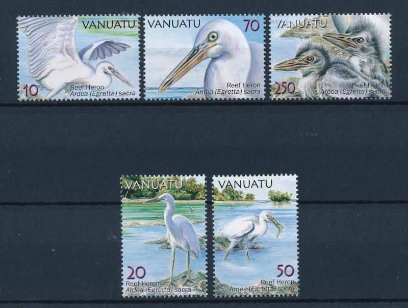 [39595] Vanuatu 2007 Birds Vögel Oiseaux Ucelli  Reef Heron MNH