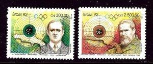 Brazil 2349-50 MNH 1992 Olympics    (ap4353)