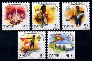 [66620] Congo Zaire 1982 Scouting Jamboree Pfadfinder  MNH