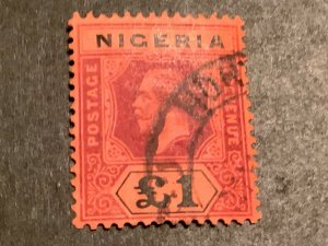 Nigeria. #12 Used VF. **FREE shipping