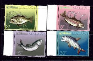 Malawi 217-20 MNH 1974 Game Fish
