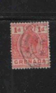 GRENADA #80  1913  1p  KING GEORGE V       F-VF  USED  f