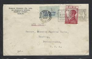IRELAND  (P0110B)  1953  BARRY 1/3   A/M TO USA