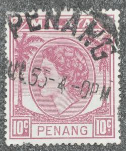 DYNAMITE Stamps: Malaya Penang Scott #35 – USED