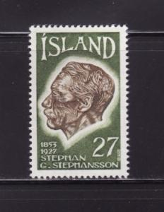 Iceland 480 Set MHR Stephan G Stephansson. Poet