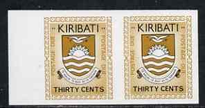 Kiribati 1981 Postage Due 1981 30c black & brown-ochr...
