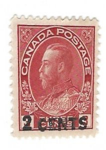 Canada 139   Mint  VF 1926   PD