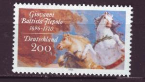 J2018 JLS stamps 1996 germany set/1 #1921 painting $2.00v