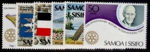 SAMOA QEII SG565-570, 1980 anniverseries set, NH MINT.