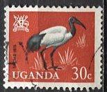 Uganda 1965: Sc. # 101: O/Used Single Stamp