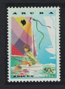 Aruba Sailfish Dinghy 1993 MNH SG#129