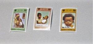 Sierra Leone - 451-53, MNH Set. International Year of the Chlid. SCV - $1.50