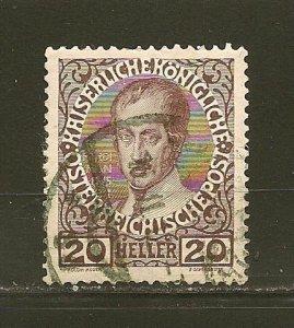 Austria 117 Karl VI Used