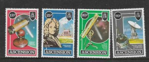 Ascension  385 - 388 (SG 393/6) Space - MNH - VF - CV$4.05