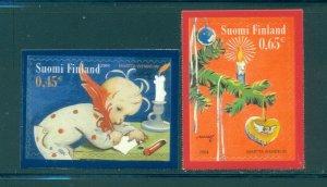 Finland - Sc# 1222-3. 2004 Christmas. MNH. $3.50.