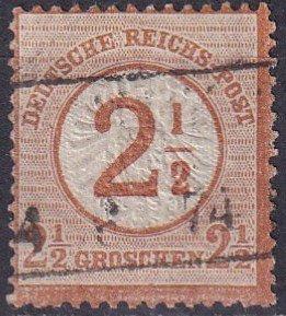 Germany #27 F-VF Used CV $42.50 (Z2859)