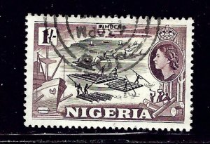 Nigeria 87 Used 1953 issue    (ap1909)