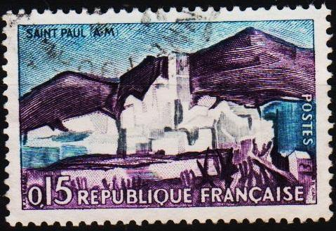 France. 1961 15c S.G.1541 Fine Used