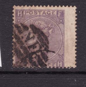 Great Britain a QV used 6d from 1865
