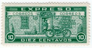 (I.B) Dominican Republic Postal : Express Post 10c