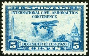 US Stamps # 650 MNH Superb Gem