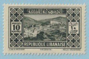 LEBANON 130  MINT HINGED OG * NO FAULTS EXTRA FINE !