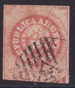 ARGENTINA - an old forgery of a classic stamp...............................4526