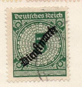 Germany 1936 Early Issue Fine Used 5M. Optd 101432