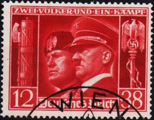 Germany. 1941 12pf+38pf S.G.751. Fine Used