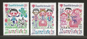 HUNGARY SC# 2566-68  FVF/MNH
