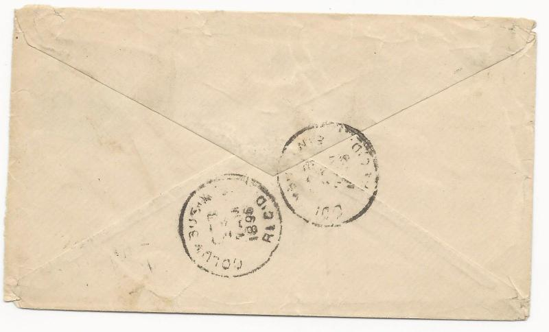 Canada Scott #34 x2 41 x2 Tied on H&G #9 Cover 1896