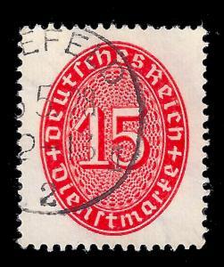 Germany Weimar Republic 1927 Sc O73 uvf