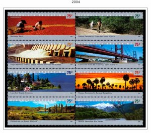 COLOR PRINTED ARGENTINA 2000-2010 STAMP ALBUM PAGES (125 illustrated pages)