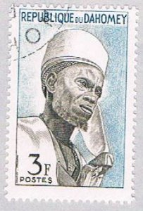 Dahomey 161 Used Bariba Chief 1963 (BP39203)