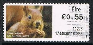 IRELAND 170948 - Post & Go #100 used s/a single - off paper