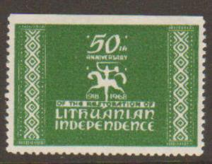 Lithuanian Independence Label 50th Anniversary