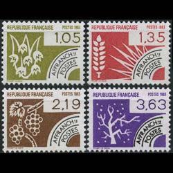 FRANCE 1983 - Scott# 1849-52 Seasons Set of 4 NH