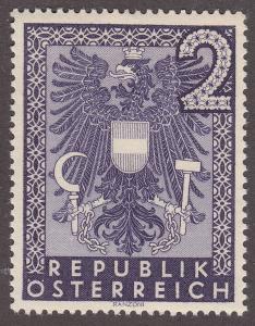 Austria 452 Coat of Arms 1945