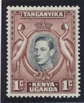 Kenya Uganda Tanganyika SG 131ai  Mint Never Hinged