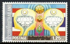Thailand 1057, MNH. Children's Day. Flowers, 1984