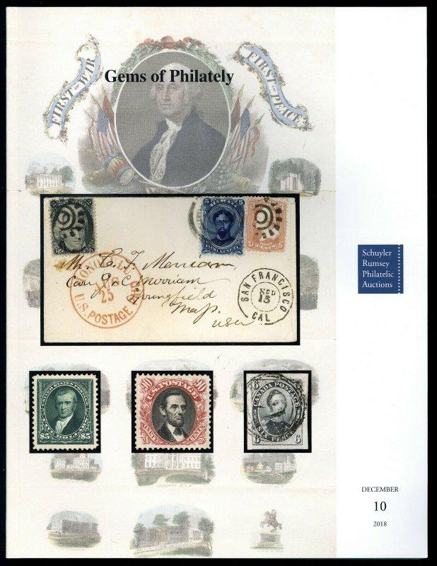 Auction Catalog: Schuyler Rumsey Sale 83 - Gems of Philately, Dec. 10, 2018