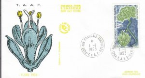 1993, T.A.A.F.: Research Ship-Marion Dufresne, FDC (E8578)