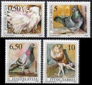 1988 Yugoslavia 2425-2428 Birds 6,00 €