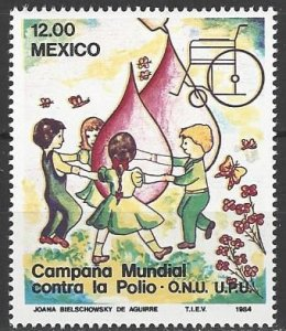 Mexico 1345  MNH  Fight against Polio