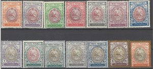 COLLECTION LOT OF # 1715 IRAN # 448-61 MH 1909