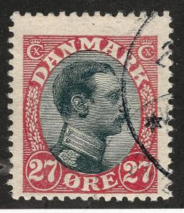 Denmark Vibrant SC #110 F-VF USED Cat $60 Collectors...Make an OFFER!