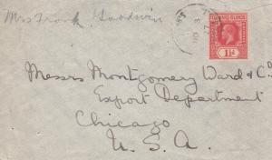 1927, Leeward Islands to Chicago, IL (8061)